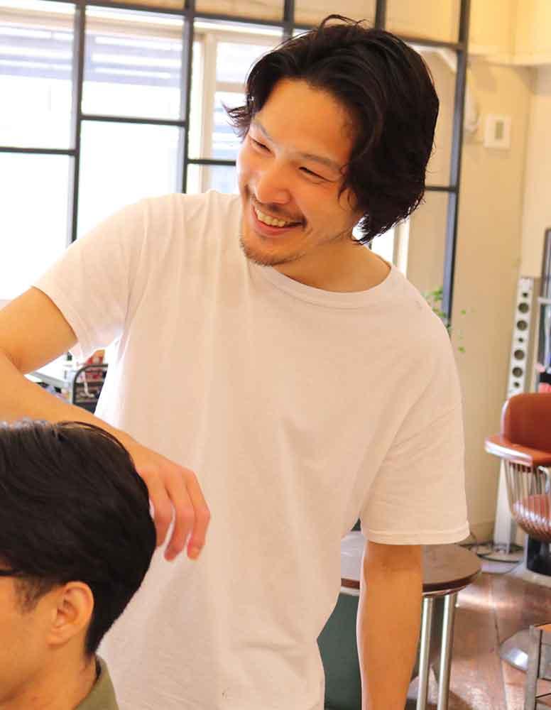 天神メンズ専門美容室ShoyaTsuda スタイリスト 津田 将矢(つだ しょうや)