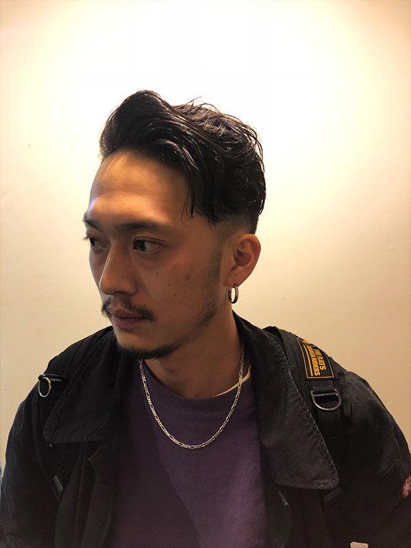 天神メンズ専門美容室ShoyaTsuda オーバーパートスタイルその5