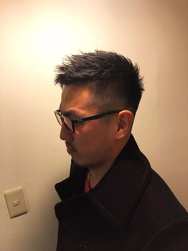 天神メンズ専門美容室ShoyaTsuda フェードショートスタイルその3