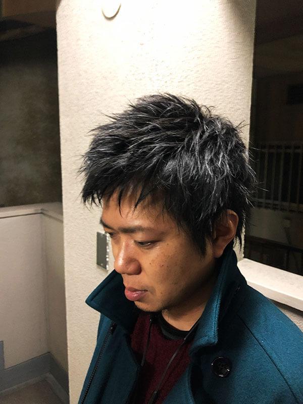 天神メンズ専門美容室ShoyaTsuda パンクショートその3