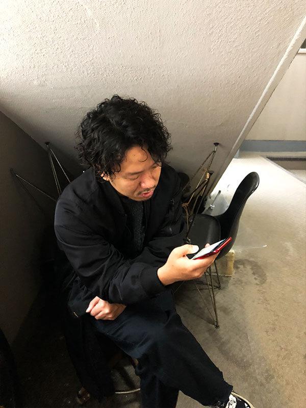 天神メンズ専門美容室ShoyaTsuda ハードラフパーマその3